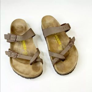 Birkenstock Mayari Birkibuc Size 41 Ladies 10